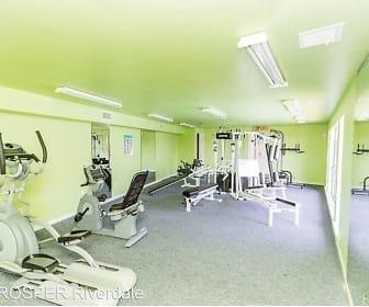 workout area featuring carpet, PROSPER Riverdale