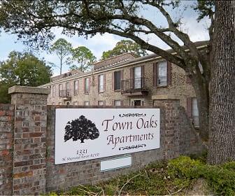Community Signage, Towne Oaks