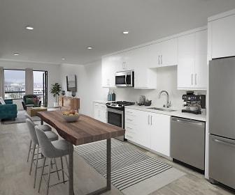 Kitchen, AMP Lofts