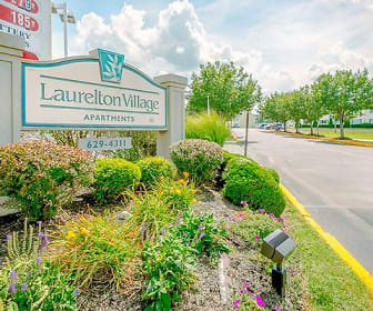 Community Signage, Laurelton Village Apartments