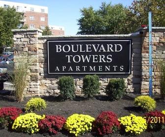 view of community / neighborhood sign, Boulevard Towers