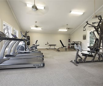 Fitness Weight Room, Bayou Parc at Oak Forest