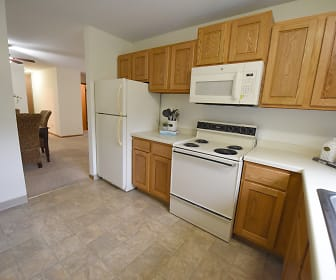 Kitchen, Applewoods Apartments