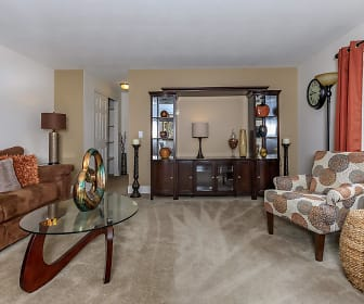 Living Room, Greystone Apartments & Townhomes