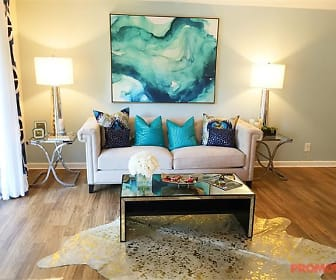 Living Room, Lake House at Martins Landing