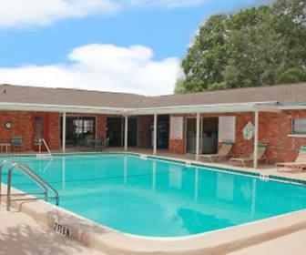 Pool, Cortez Plaza Apartments