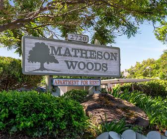 Community Signage, Matheson Woods Apartments