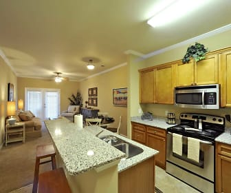Kitchen, Palisades of Jacksonville Apartments