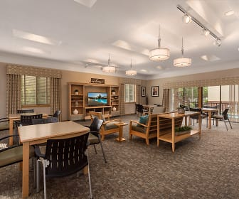 Community Building Interior, Country Club Apartments