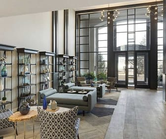 Living Room, The Burlington Apartments