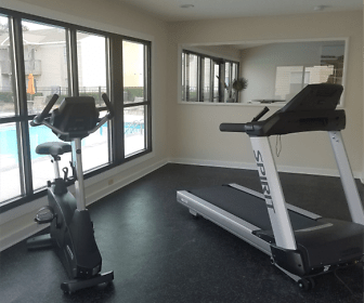 Fitness Weight Room, Retreat at Hidden Bay