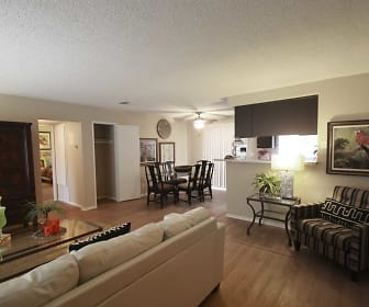 Living Room, Watercrest at the Polo Fields