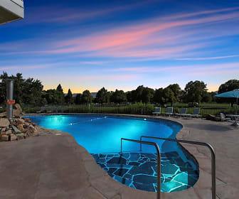 Pool, Park View Apartments
