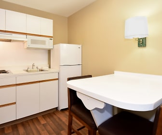 Kitchen, Furnished Studio - San Antonio - Airport