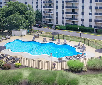 Pool, Brandywine Hundred Apartments