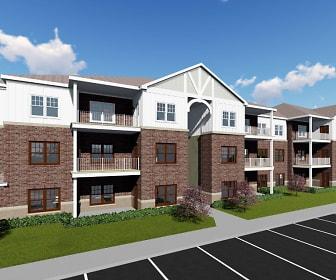 Building, River Bend Apartments