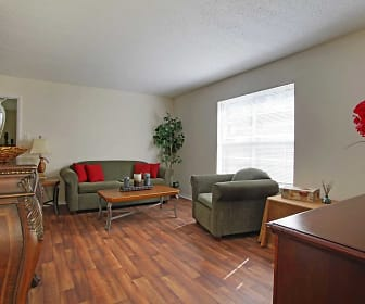Living Room, Country Haven Apartments