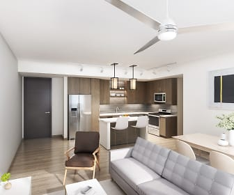 Living Room, The Residences at Thesis