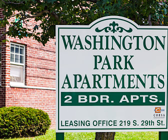 Washington Park Apartments, Thomas Jefferson University, PA