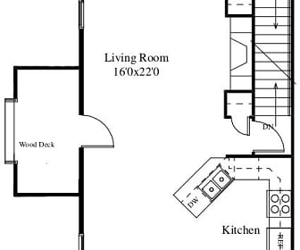North Towne Court- 3 bed townhomes, Madison, WI