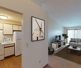 Comfortable Living Rooms with Plenty of Natural Light, Southwind Apartments