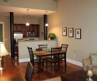 Dining Room, Lofts at Pocasset Mill