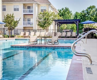 Pool, Flagstone at Indian Trail Apartments
