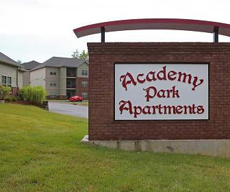 Community Signage, Academy Park