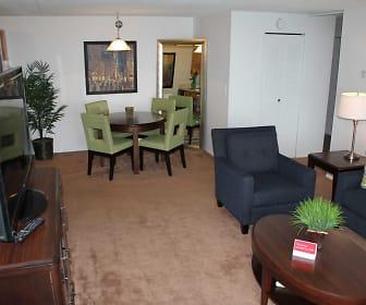 Living Room, 12 North Apartments