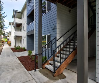 Whitney Lane Apartments, Pacific Lutheran University, WA