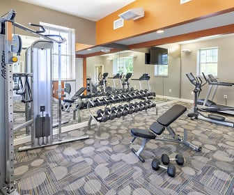 Fitness Weight Room, Rodgers Forge Apartments