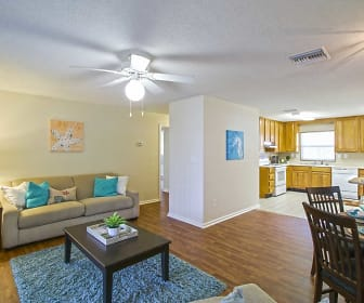 Living Room, NS Mayport Homes a Balfour Beatty Community
