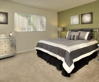 Bedroom, Creekside Gardens Apartments
