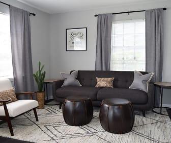 Living Room, Brandywine Townhomes