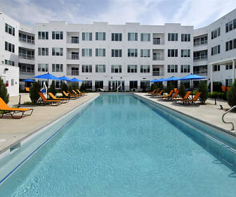 view of swimming pool, The George