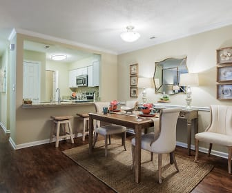 Dining Room, Uptown Gardens Apartments
