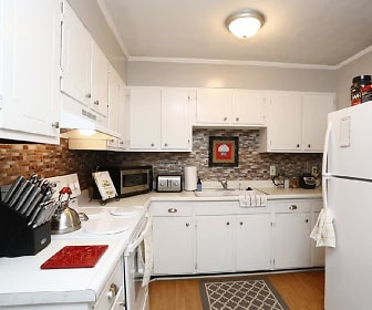 Kitchen, Morganton Arms Apartments