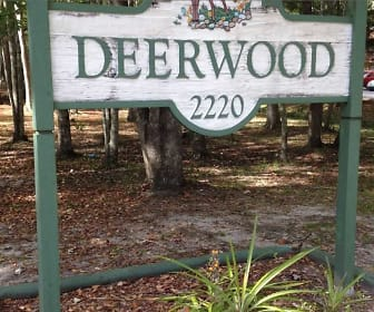 Community Signage, Deerwood Apartments