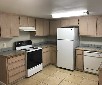 Kitchen, Cedar Park Apartments
