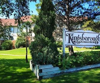 Community Signage, Kingsborough Apartments