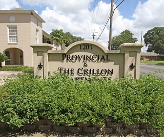 Community Signage, Provincial & The Crillon Apartments