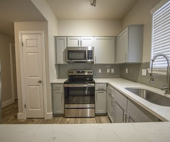 Kitchen, Mirador Apartment Homes