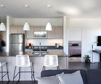 Spacious Kitchen in the 2E Floor plan, Woodside Village