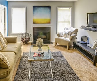 Living Room, Wood Creek at Roswell