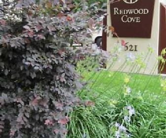 Landscaping, Redwood Cove Apartments