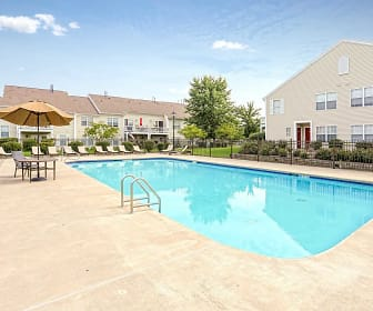 Pool, Larkin Creek Luxury Apartments