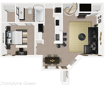 Champions Green, Northland Christian School Pk 12, Houston, TX