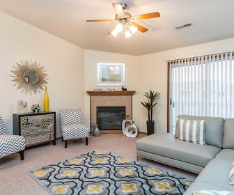 Living Room, Pebblebrook Apartments And Townhomes