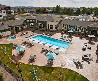 Resort-style, heated saltwater pool and spa, Enclave at Cherry Creek