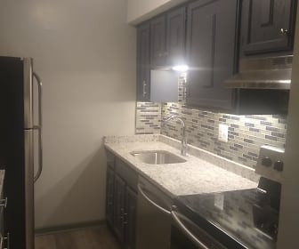 Kitchen, Stonegate Apartments